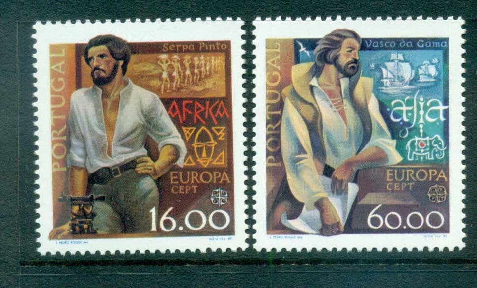 Portugal 1980 Europa, Celebrities MUH lot65771
