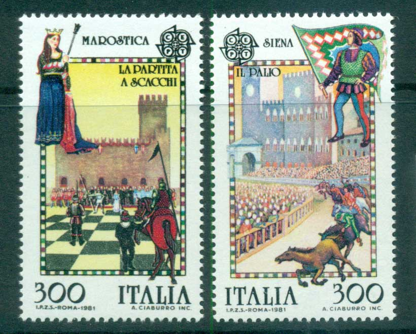 Italy 1981 Europa, Folklore MUH lot65803