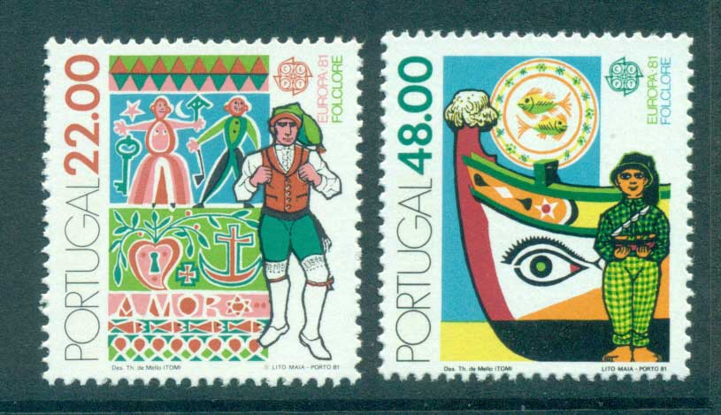 Portugal 1981 Europa, Folklore MUH lot65817