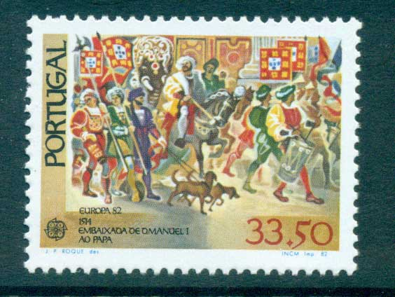 Portugal 1982 Europa, History MUH lot65849