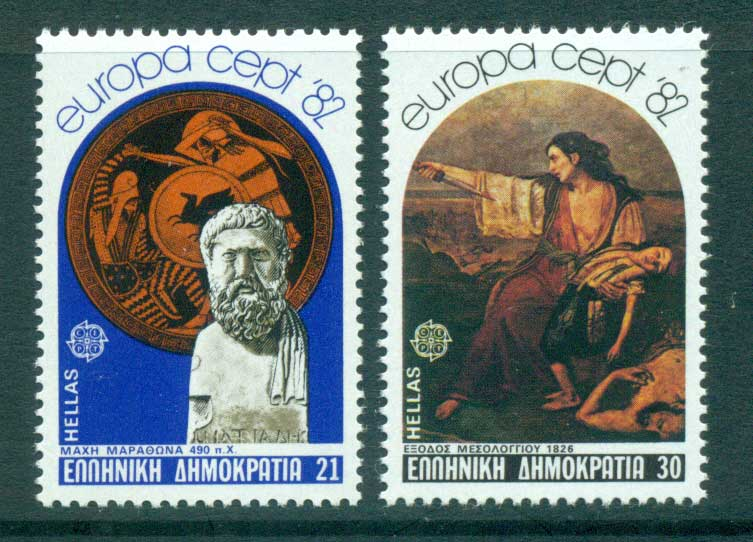 Greece 1982 Europa, History MUH lot65858