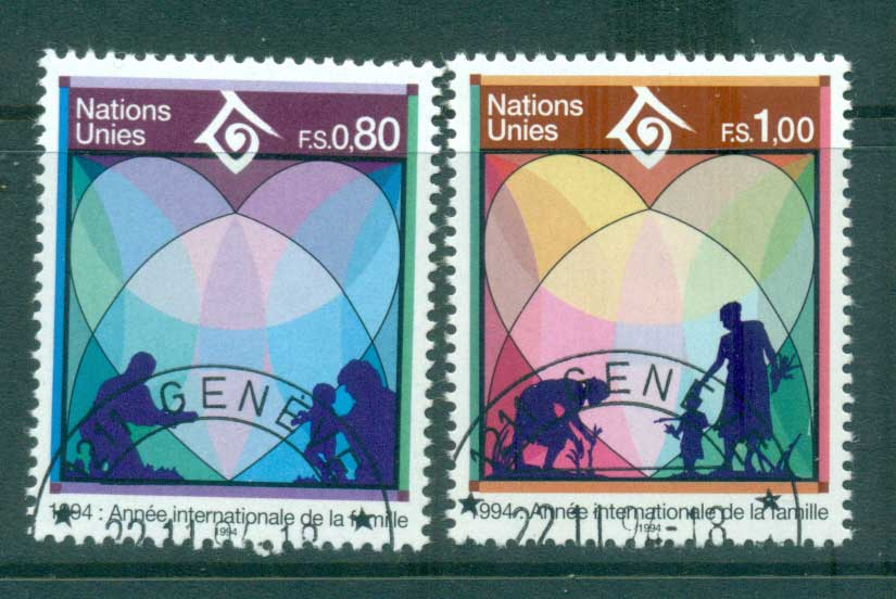 UN Geneva 1994 Year of the Family CTO lot65903