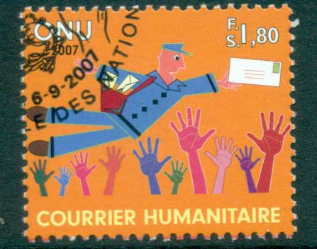 UN Geneva 2007 Humanitarian mail CTO lot65909