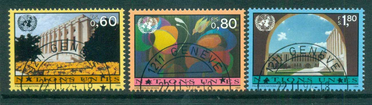 UN Geneva 1997 Views CTO lot65952