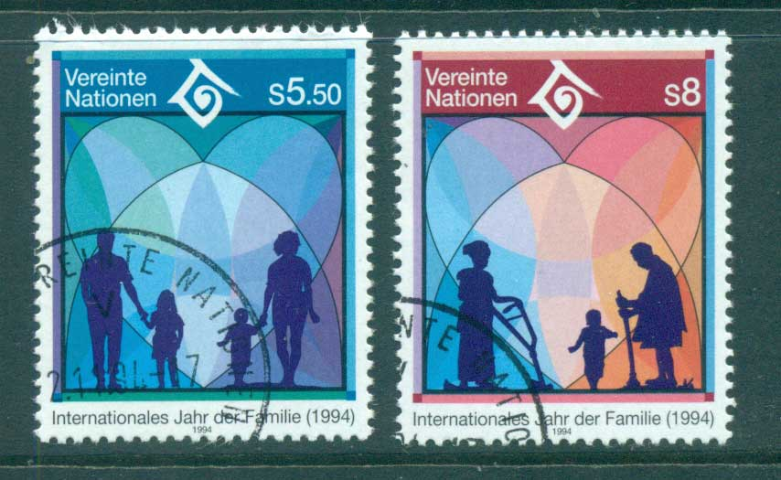 UN Vienna 1994 Intl. Year of the Family CTO lot65985