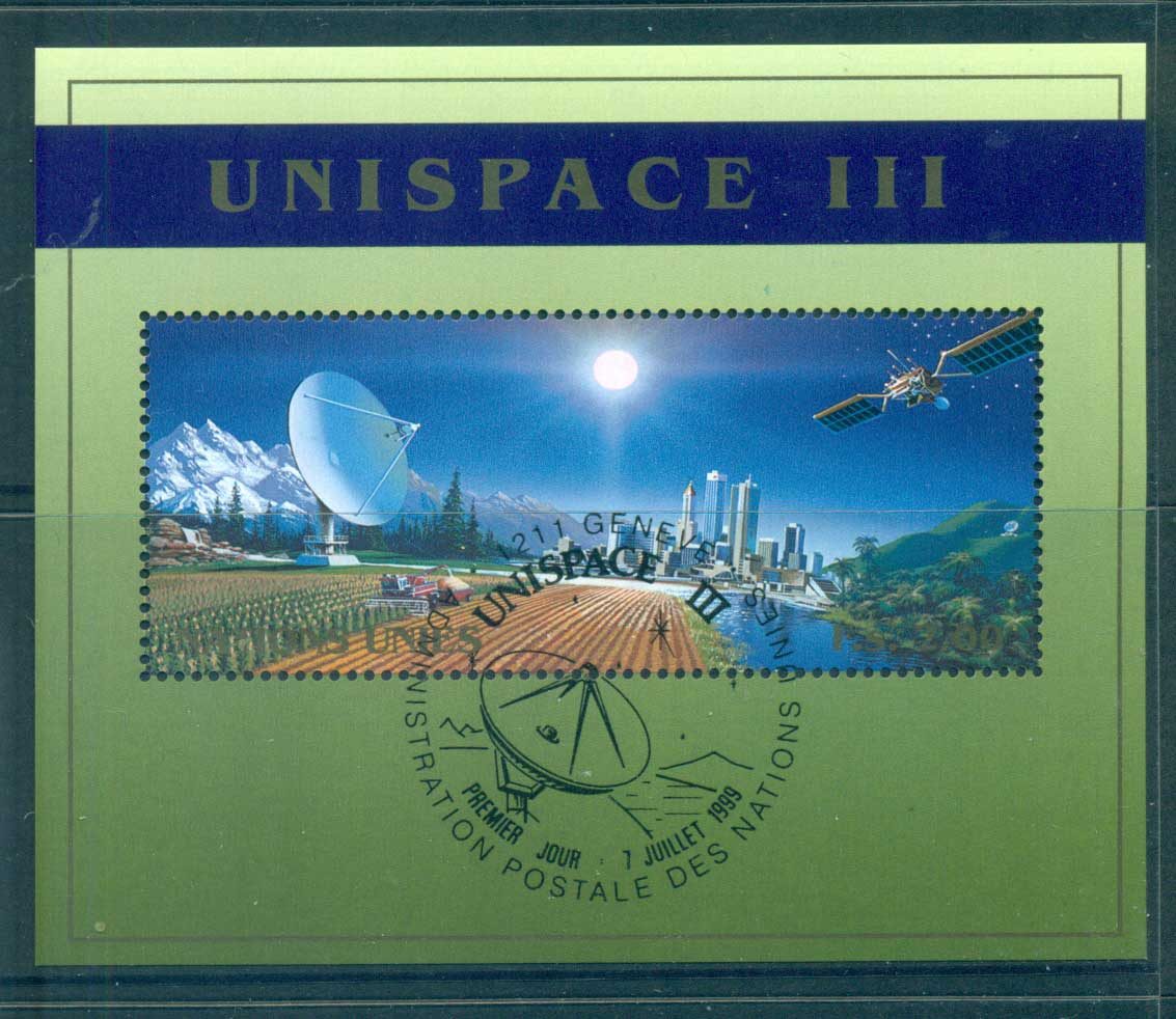 UN Geneva 1999 UNISPACE III MS CTO lot66043
