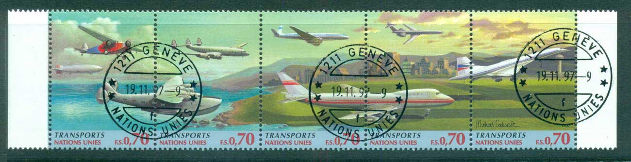 UN Geneva 1997 Transportation Str 5 CTO lot66054