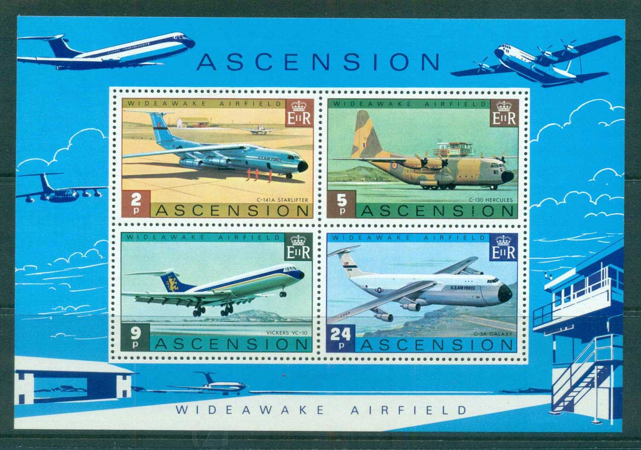 Ascension Is 1975 Wideawake Airfield MS MUH lot66120