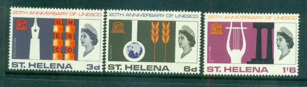 St Helena 1966 UNESCO MUH lot66156