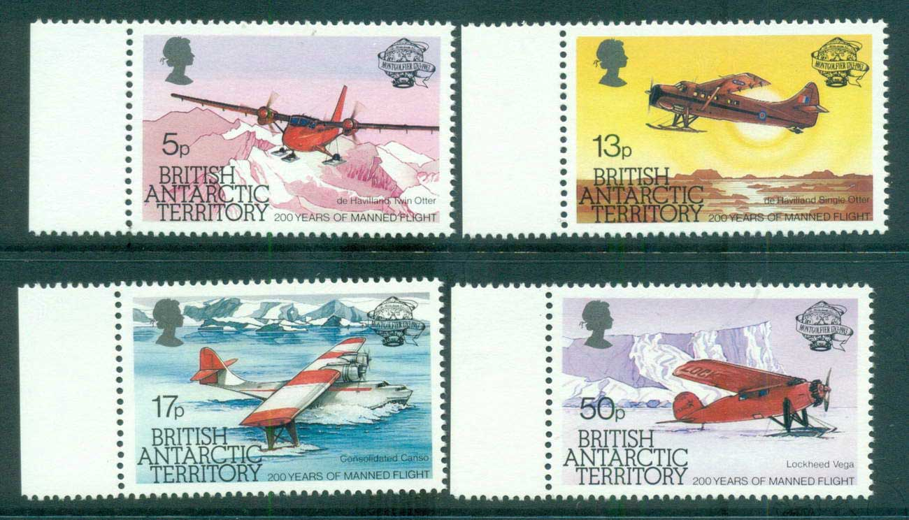 BAT 1983 Manned Flight Bicentenary MUH lot66234