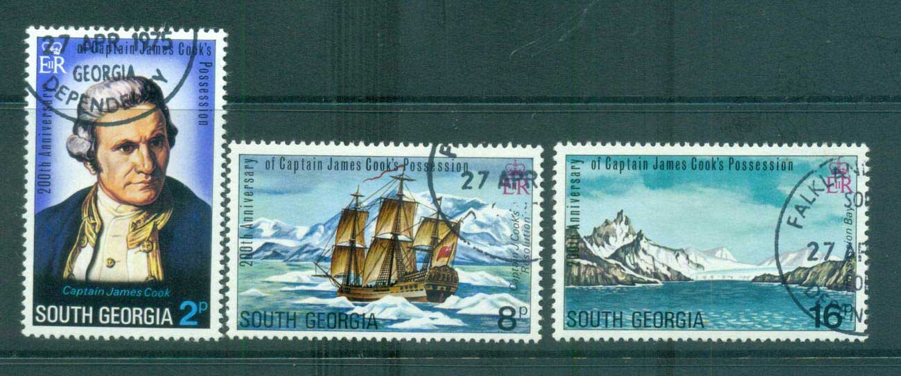South Georgia 1975 Captain Cook FU lot66247