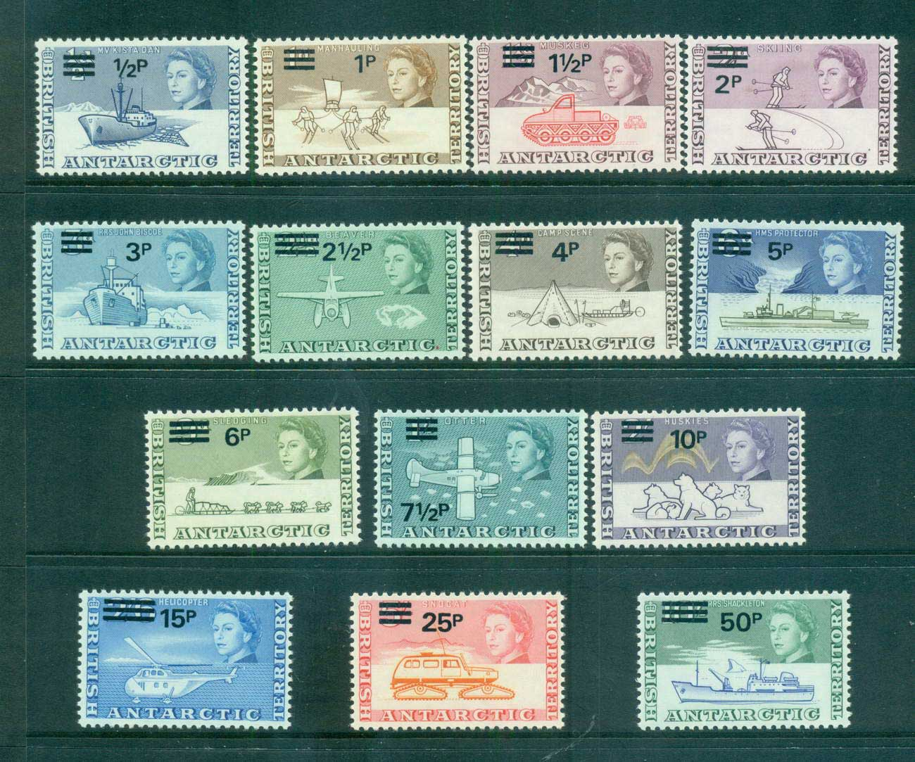 BAT 1971 Decimal Opts MLH lot66248