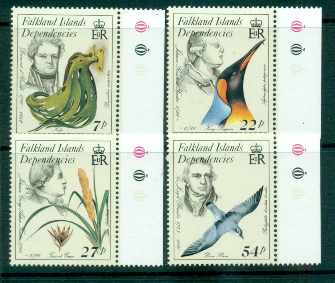 Falkland Is Deps 1985 Naturalists MUH lot66587