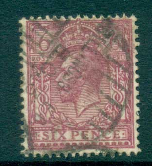 GB 1912-13 KGV 6d rose lilac FU lot66742