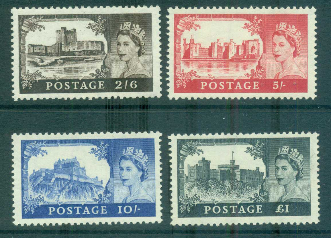 GB 1955 Castles De La Rue MUH lot66796