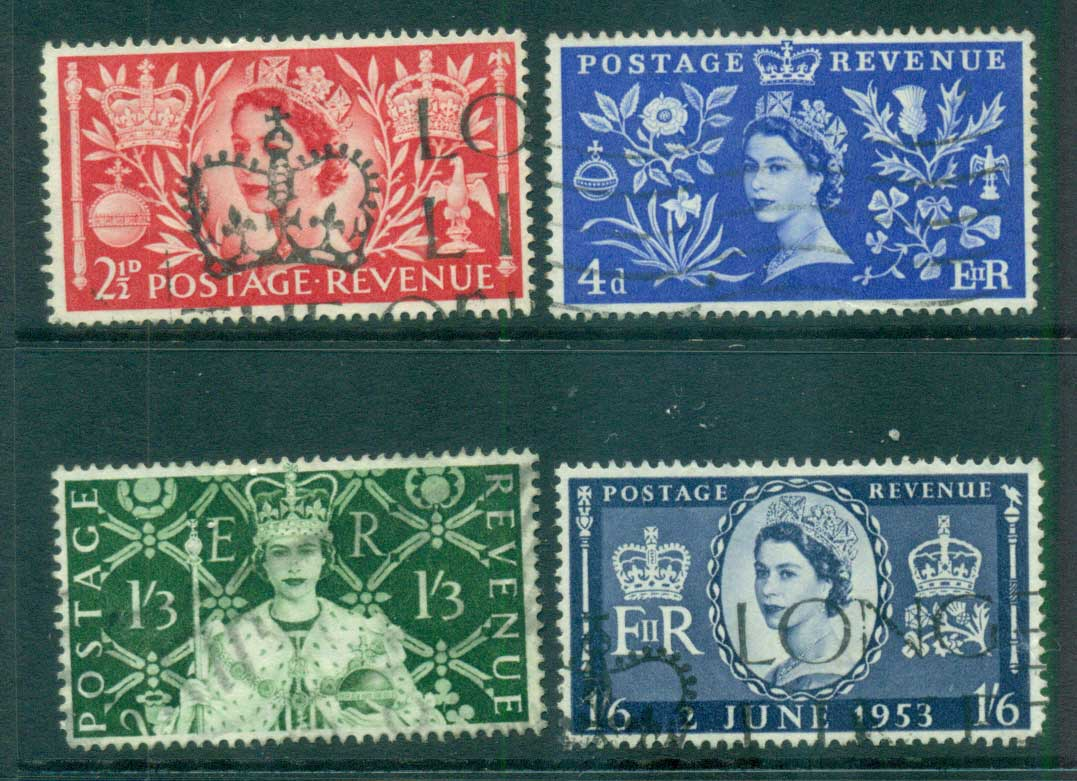 GB 1953 Coronation FU lot66896