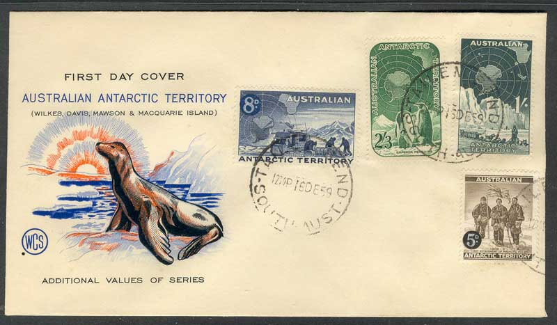 AAT 1959 FDC Tailem Bend Cancell Lot10213