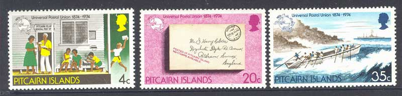 Pitcairn Is 1974 UU Centenary MUH Lot10265