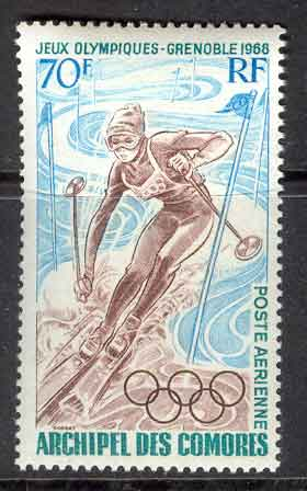 Comoro Is 1968 Grenoble Winter Olympics MUH Lot10428 - Click Image to Close