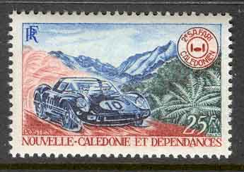 New Caledonia 1968 Auto Safari MUH Lot10478