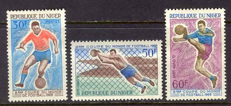Niger 1966 World Cup MUH Lot10537