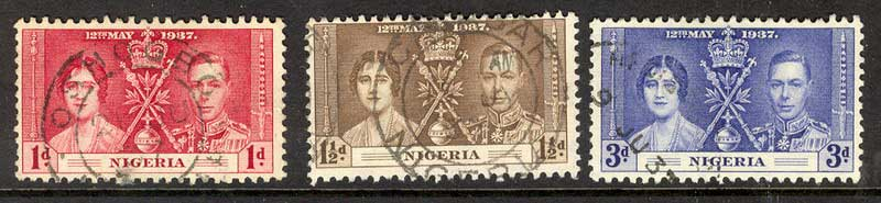 Nigeria 1937 Coronation FU Lot10900