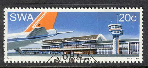 SWA 1977 Windhoek Airport VFU Lot11070