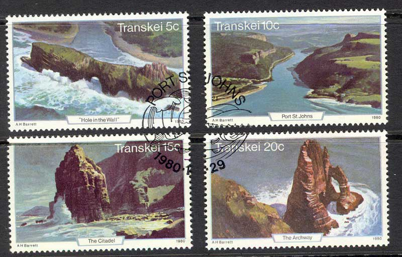 Transkei 1980 Tourism VFU Lot11126