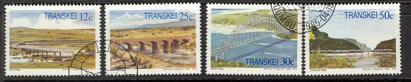 Transkei 1985 Bridges VFU Lot11136