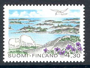 Finland 1997 National Park MUH Lot12124
