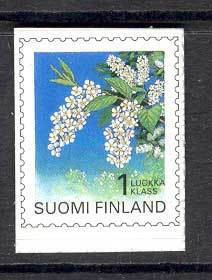Finland 1997 1st Class Flowers P&S MUH Lot12132