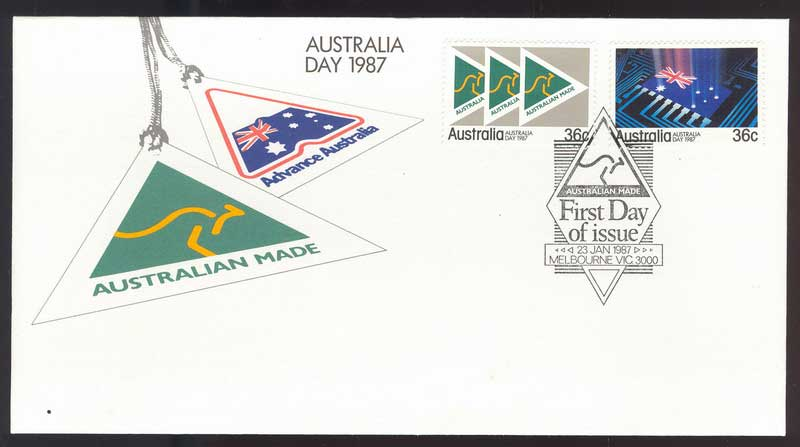 Australia 1987 Australia Day FDC Lot12486