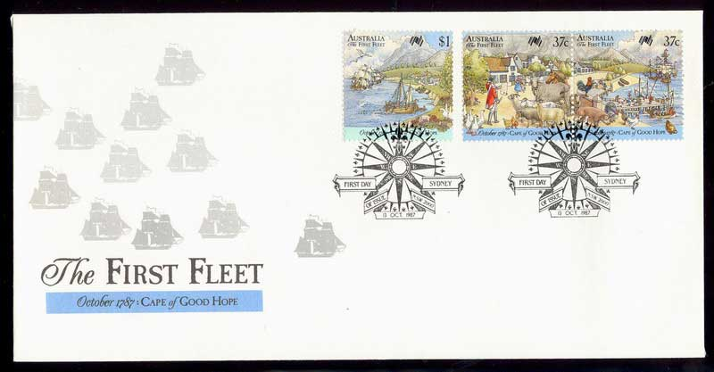 Australia 1987 First Fleet COGH FDC Lot12488
