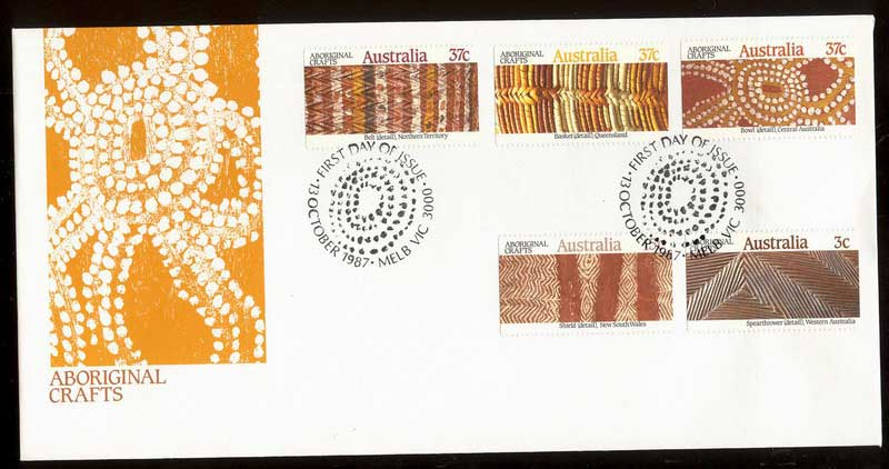 Australia 1987 Aboriginal Craft FDC Lot12489