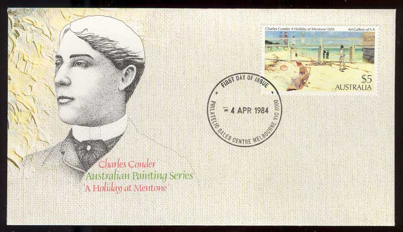 Australia 1984 $5 Mentone, Melbourne Philatelic FDC Lot12501