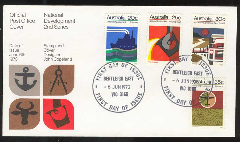 Australia 1973 National Development FDC Lot13427
