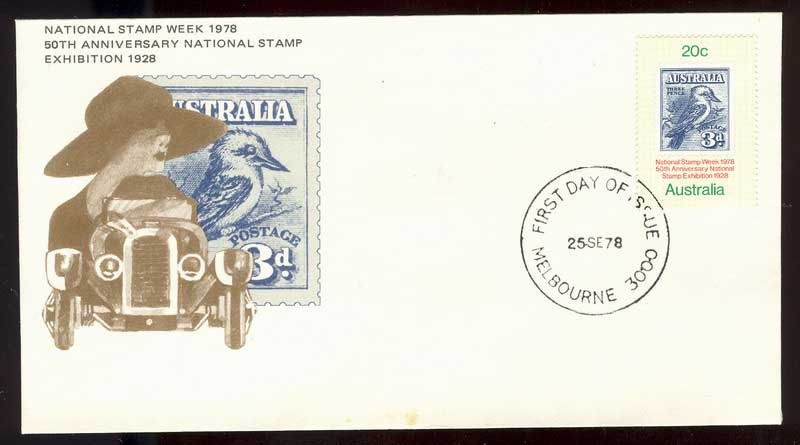 Australia 1978 Stamp Week FDC Lot13590