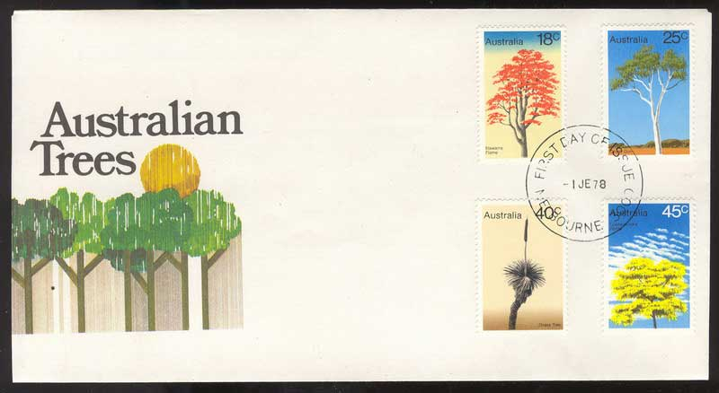 Australia 1978 Trees FDC Lot13621