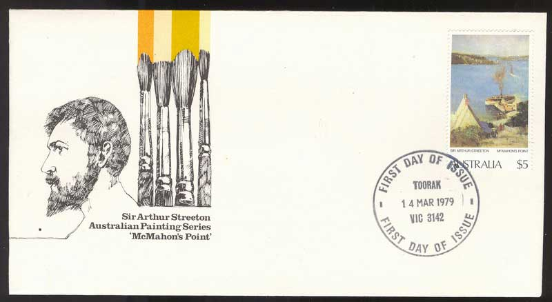 Australia 1979 $5 Painting FDC Lot13627