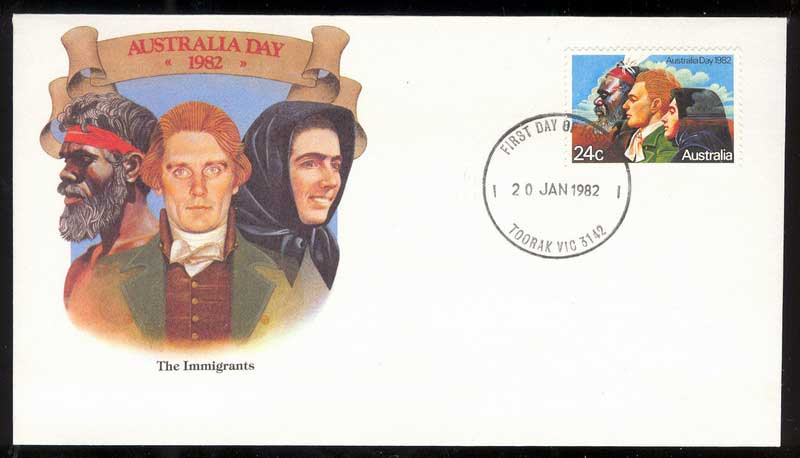 Australia 1982 Australia Day FDC Lot13700 - Click Image to Close