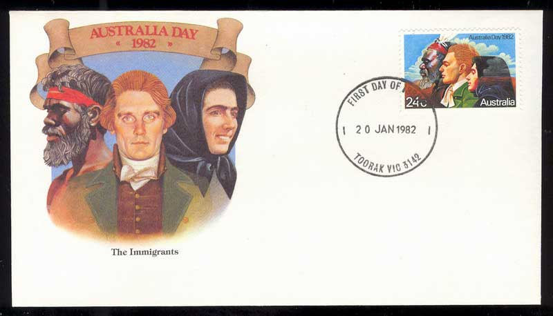 Australia 1982 Australia Day FDC Lot13701