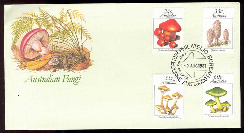 Australia 1981 Funghi FDC Lot13717 - Click Image to Close