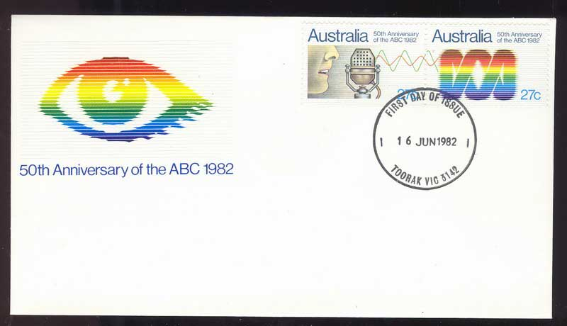 Australia 1982 ABC FDC Lot13721