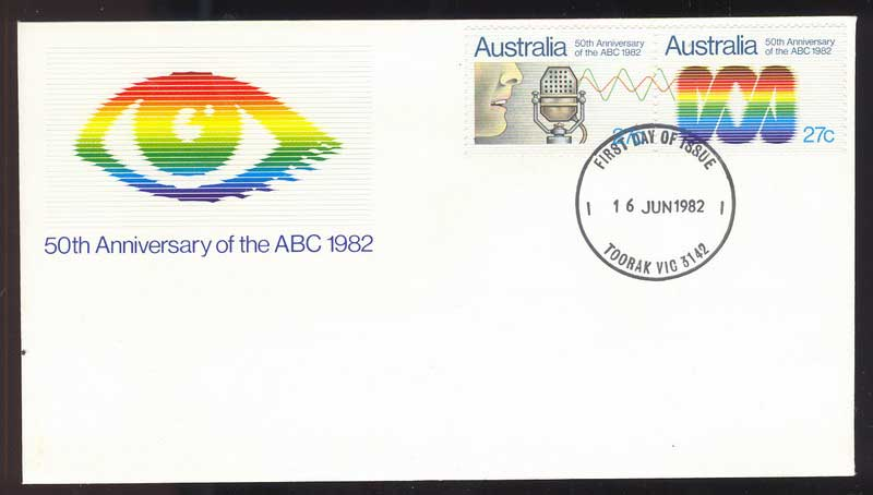 Australia 1982 ABC FDC Lot13722