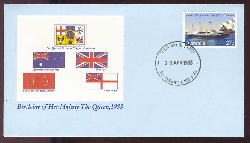 Australia 1983 Queens Birthday FDC Lot13758