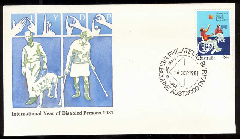 Australia 1981 Disabled Persons FDC Lot14014