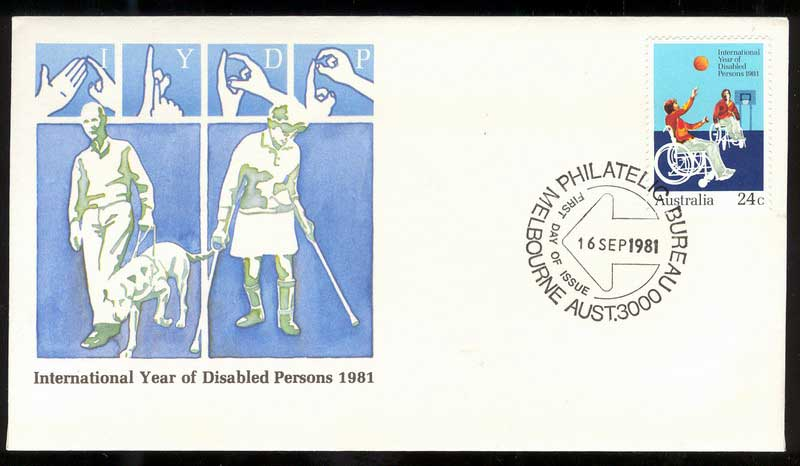 Australia 1981 Disabled Persons FDC Lot14015