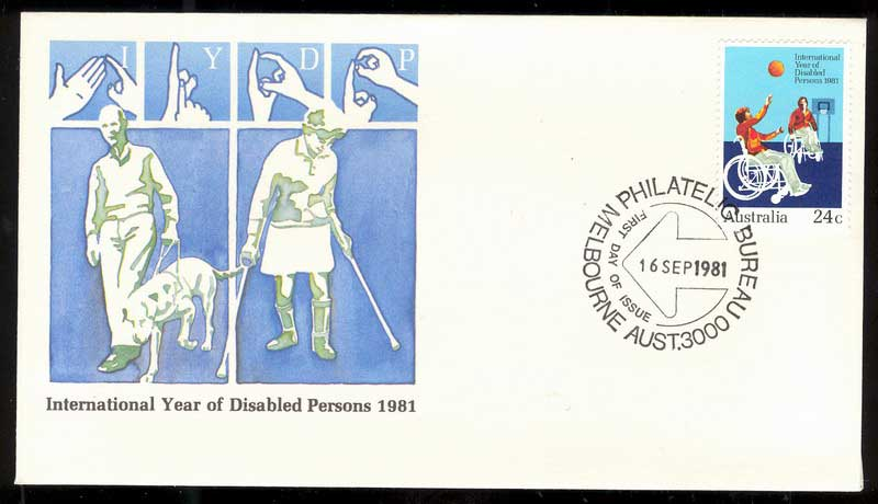 Australia 1981 Disabled Persons FDC Lot14016