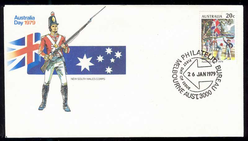 Australia 1979 Australia Day FDC Lot14047