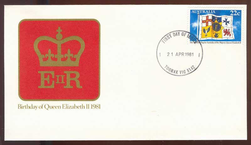 Australia 1981 Queens Birthday FDC Lot14070